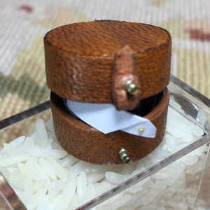 Collar Box With Collars 1:12 Dollhouse Miniature