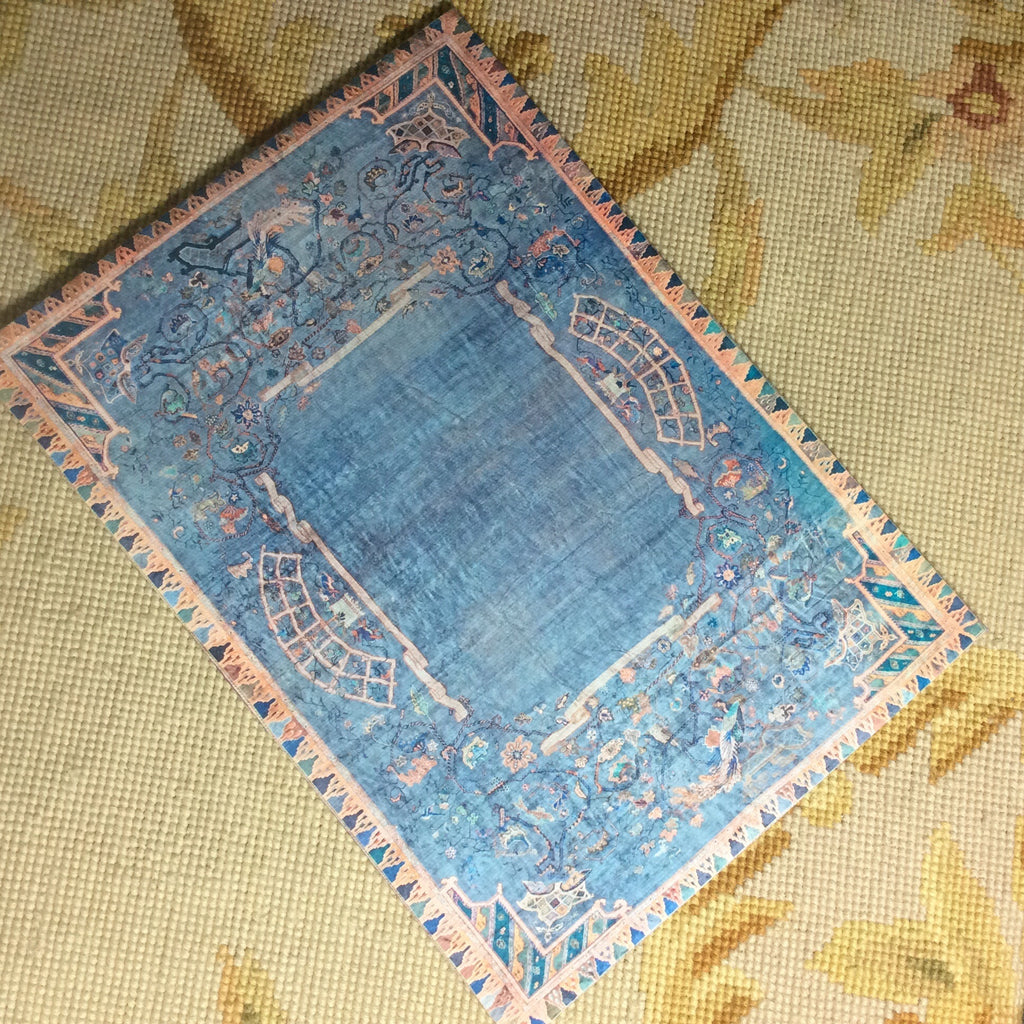 Floorcloth Rug Carpet p477 Dollhouse Miniature
