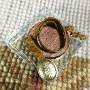Belt Natural Genuine Snakeskin Leather 1:12 Dollhouse Miniature