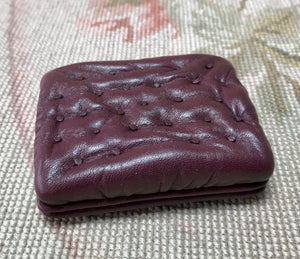 Stool Ottoman Seat Table 1:12 Dollhouse Miniature