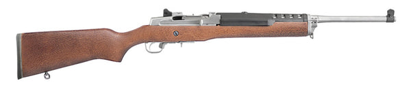 Ruger Mini Thirty Semi Auto 7.62x39  Hardwood Stainless