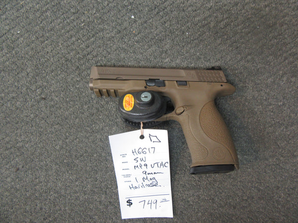 H6617 - Smith & Wesson M&P VTAC 9mm