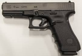 Glock 17 Gen 4 9mm  Adjustable sights