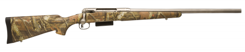 Savage 220 Slug Gun - Stainless, Camo 20 Gauge