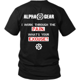 Alpha Gear - Work Through The Pain