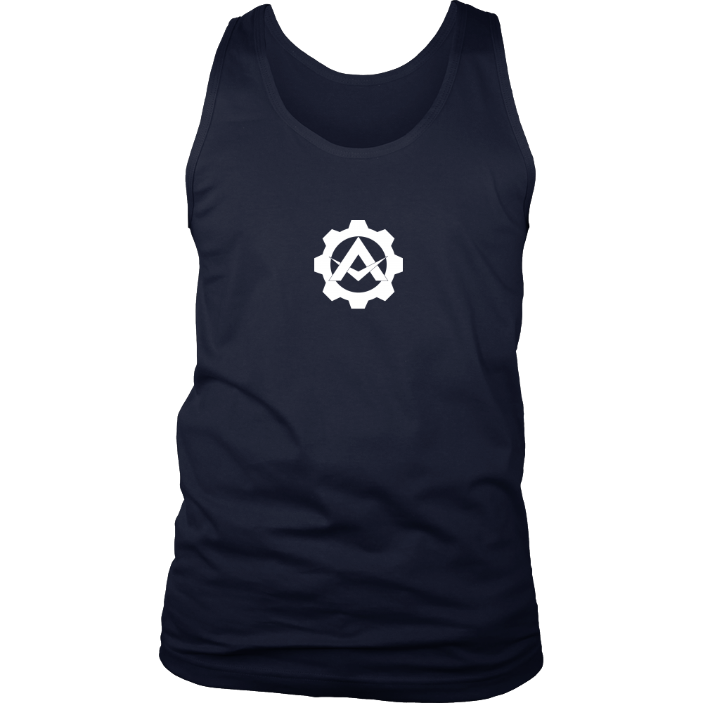 Alpha Gear - Logo Splash Tank