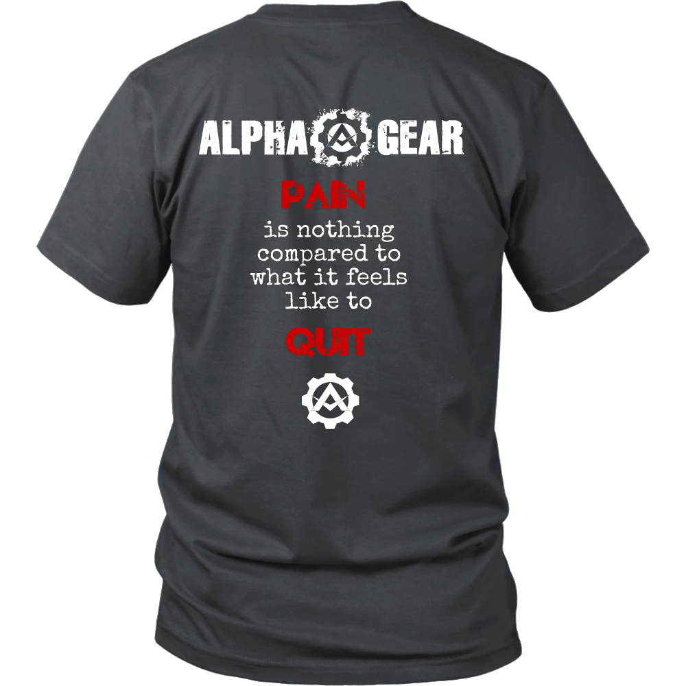 Alpha Gear - Pain is Nothing Compared to Quitting