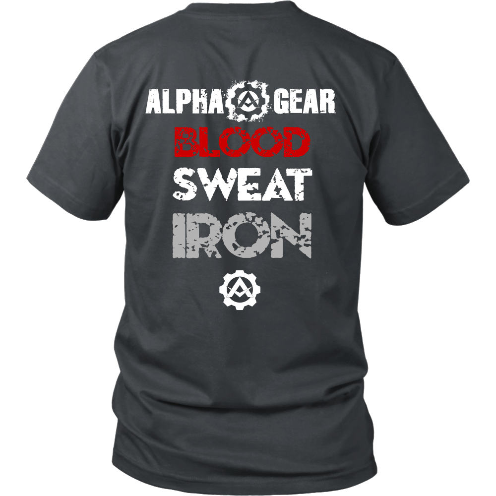 Alpha Gear - Blood Sweat Iron