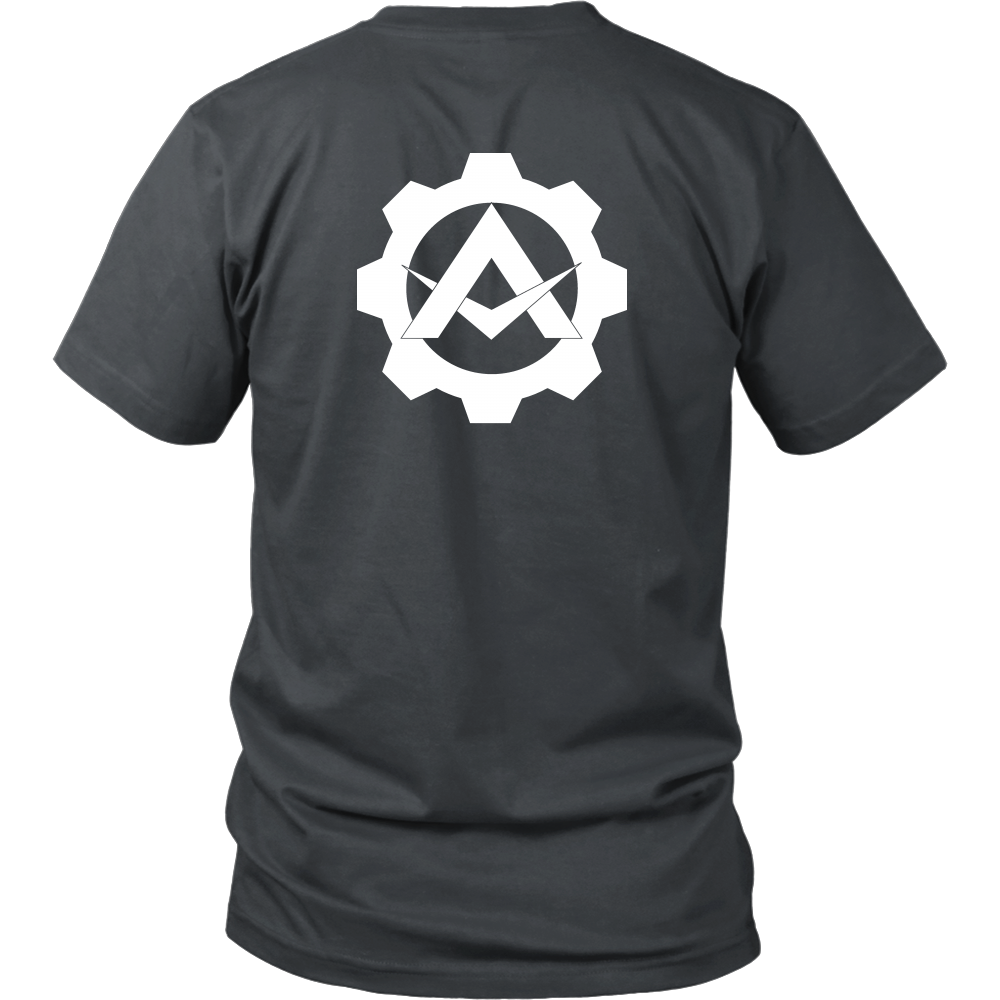 Alpha Gear Symbol - MultiColor Shirt