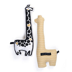 Nursery Friends - Giraffe Throw Pillow