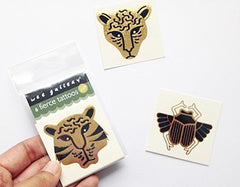 Wee Gallery Gold Tattoos - Fierce
