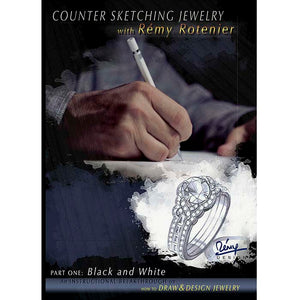 Counter Sketching Jewelry with Rémy Rotenier Part One: Black & White