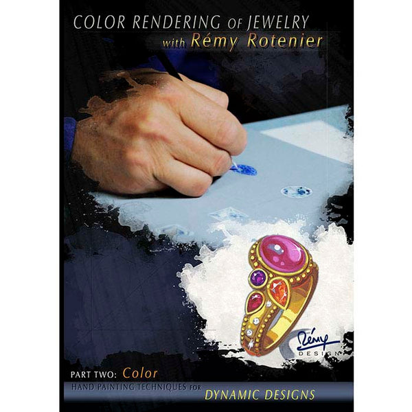 Color Rendering of Jewelry with Rémy Roternier Part Two: Color