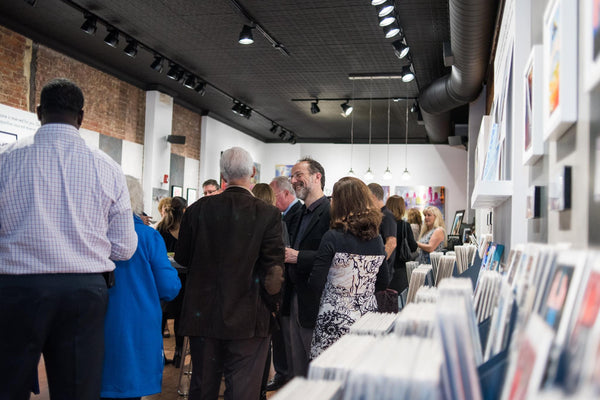 Chester Fund for the Education and the Arts- Five Year Anniversary Celebration at Carré D'artistes Art Gallery Philadelphia