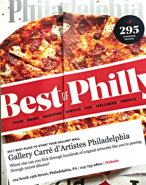 PHILLY MAGAZINE'S BEST OF PHILLY 2017 WINNER! 'BEST PLACE TO START YOUR GALLERY WALL'