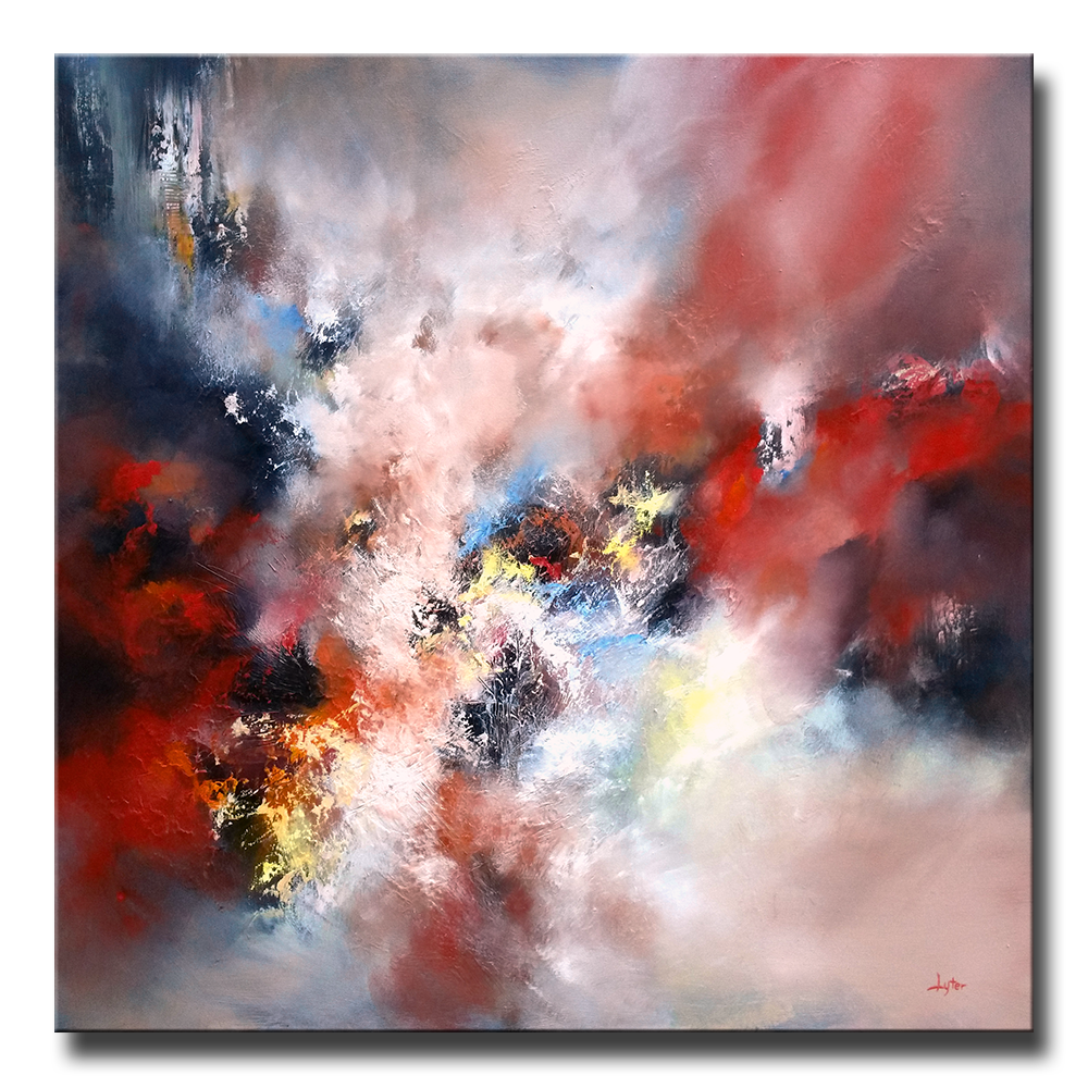 "AN INFINITE STORM OF BEAUTY 40""X40"" LYCHA080"