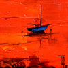 ABSTRACT BOAT LABLA986