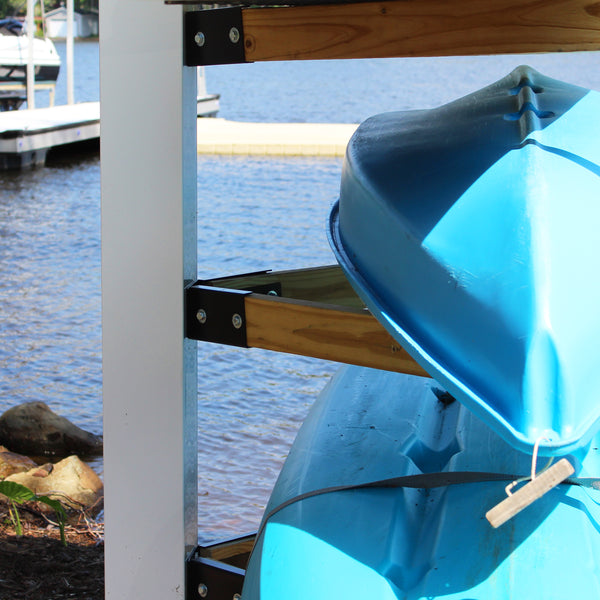 Yak Tree Brackets: Kayak Storage System