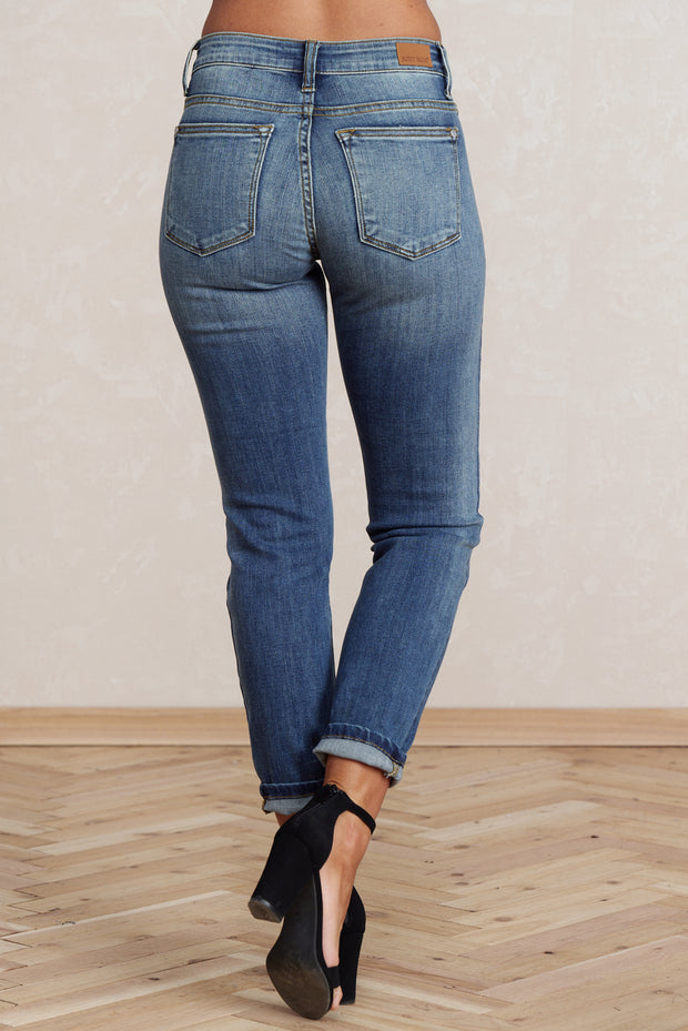Won't Go Relaxed Fit Jeans (Medium Wash)