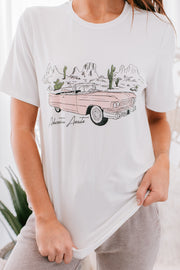 Awaiting Adventure Graphic T-Shirt (Ivory) - NanaMacs