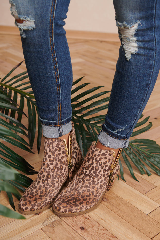 Cool Cat Booties (Leopard)