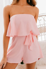 Spring Crush Sleeveless Romper (Blush) - NanaMacs