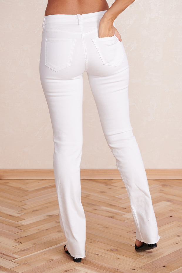 Saved By The Bell Jeans (White) - NanaMacs