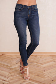 Classic Beauty Skinny Jeans (Dark Wash) - NanaMacs