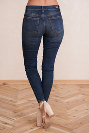 Classic Beauty Skinny Jeans (Dark Wash)