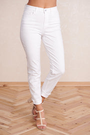 Perfect Pair High Waisted Jeans (White) - NanaMacs