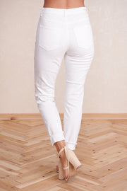 Perfect Pair High Waisted Jeans (White)