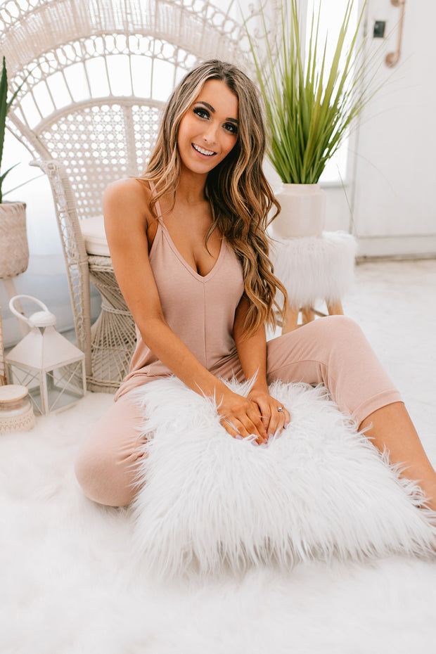 Better Than Your Birthday Suit Jumpsuit (Two Tone Nude) - NanaMacs