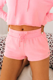 Dressed To Chill French Terry Two Piece Set (Pink) - NanaMacs
