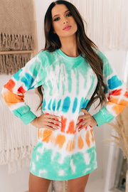 By The Bay Tie Dye Tunic (Multi) - NanaMacs