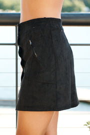 Speak Your Mind Skirt (Black)