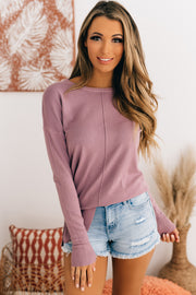 My Main Focus Tunic Top (Dusty Lavender) - NanaMacs