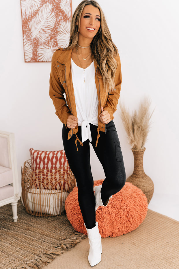 Sweeter Than Cider Lightweight Jacket (Light Copper) - NanaMacs