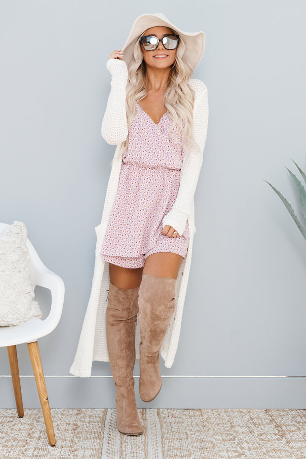 Be My Forever Duster Cardigan (Cream)