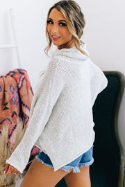 Second Glances Turtle Neck Sweater (Stone) - NanaMacs