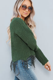 True Meaning Sweater (Olive)