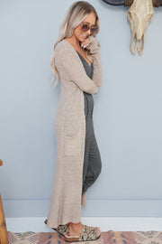 Be My Forever Duster Cardigan (Sand)