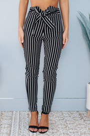 Catch My Breath Pants (Black/Ivory)
