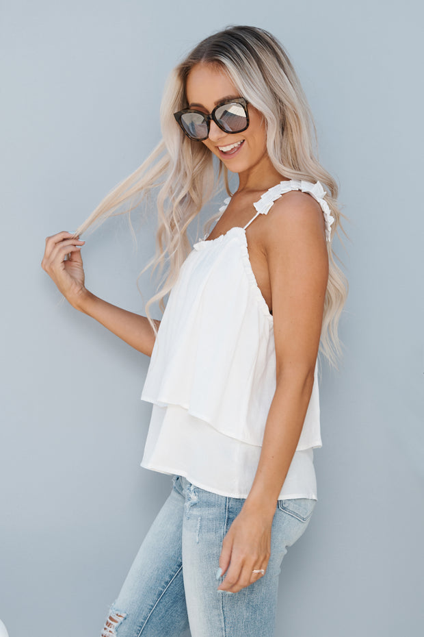Too Cool Top (Off White)