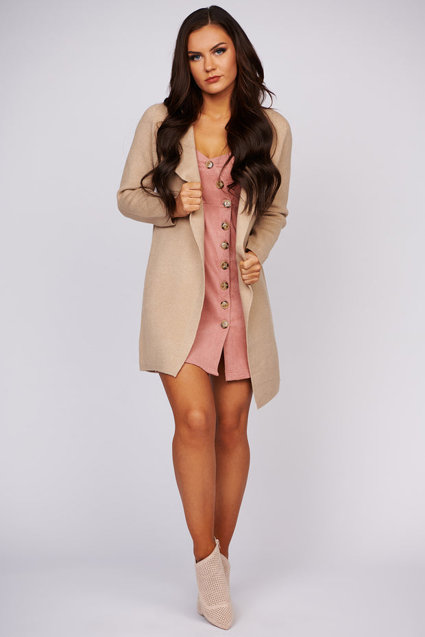 New Perspective Open Front Duster Cardigan (Coco) - NanaMacs