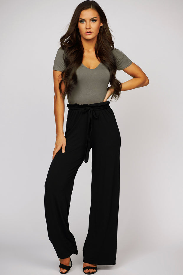 Maggy V-Neck Crop Top (Dark Coco) - NanaMacs
