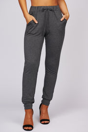 Still Dreaming Knit Joggers (Charcoal)