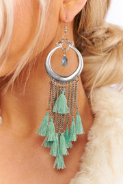 I'm Into It Drop Earrings (Mint)