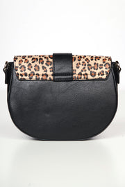 You Drive Me Wild Leopard Print Bag (Black)