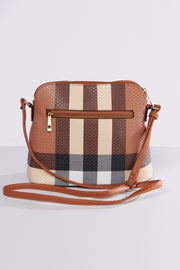 Beside Me Plaid Bag (Brown) - NanaMacs