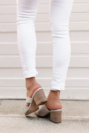 Mystery Girl Cut Out Mule (Grey) - NanaMacs